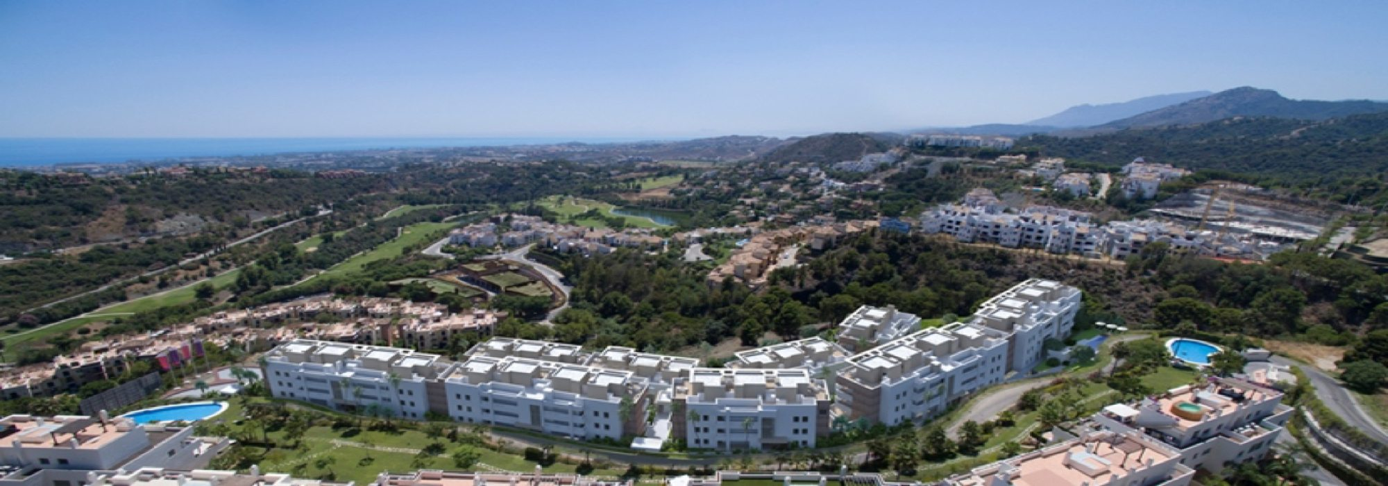 APARTMENTS FOR SALE – LA RESERVA DE ALCUZCUZ – BENAHAVIS