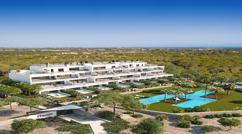 Two Bedroom Luxury Apartments – Hinojo Community –  Las Colinas Golf & Country Club