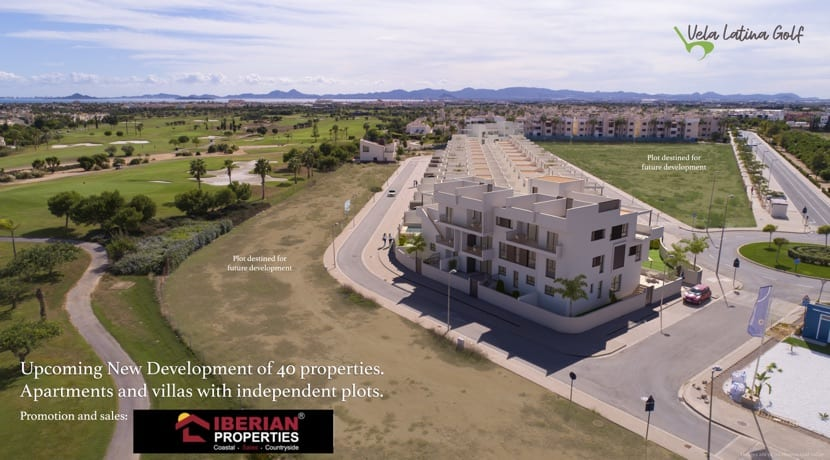 New Build Apartments – Roda Golf Resort – Los Alcazares