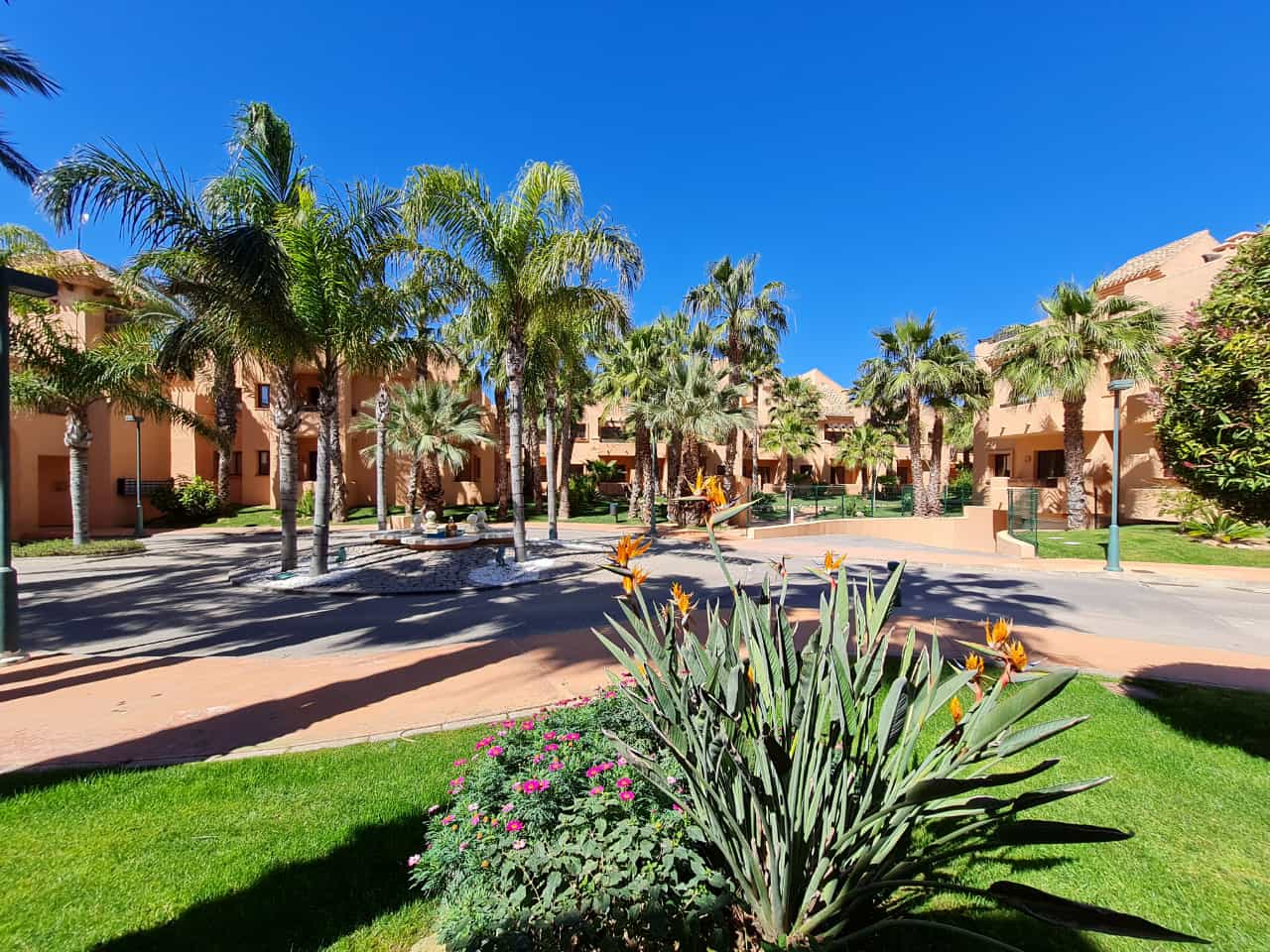 Residential Nueva Ribera Beach Club Apartments – 1 minute walk from the beach – Los Alcazares