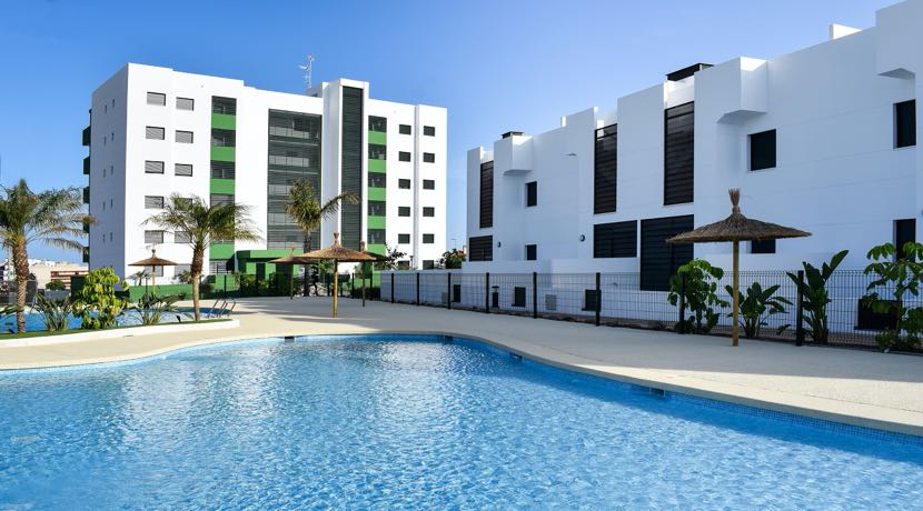 New Residential with Apartments and Bungalows – Mil Palmeras