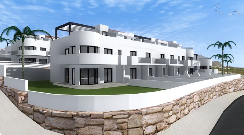 Townhouses with Sea Views – Finestrat