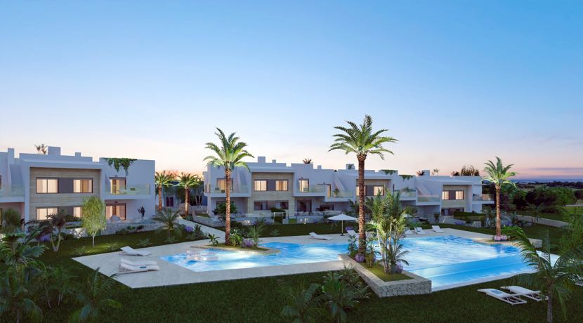 New Exclusive Residential at Lo Romero Golf – 3 Bedroom Bungalows with garden or solarium
