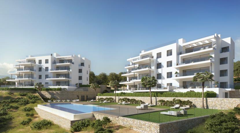 Luxury Nispero Apartments – Las Colinas Golf Resort – Alicanate