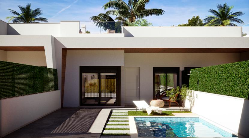New Semi Detached Villas with Private Pool – El Palmeral de Roda Golf – Los Alcazares