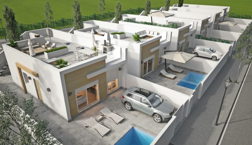 Residencial Aire Limpio in Avileses, Murcia.