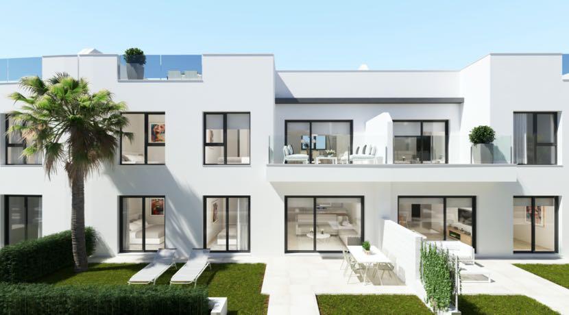 Private Residential of 24 Apartments – SANTIAGO DE LA RIBERA