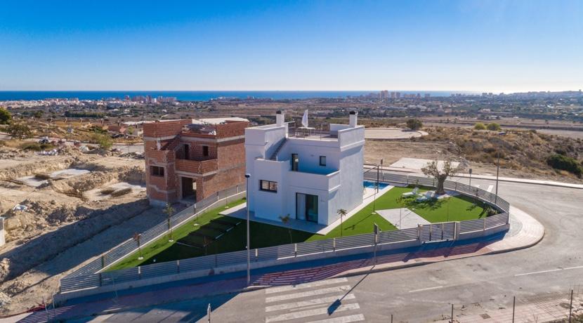New Detached Villas – Panoramic Views – Close to Bonalba Golf