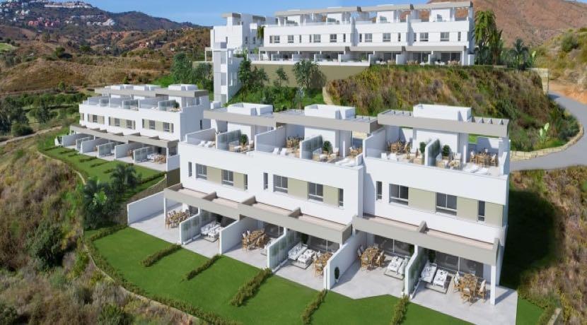 NEW TOWNHOUSES AT LA CALA GOLF RESORT, MIJAS, COSTA DEL SOL
