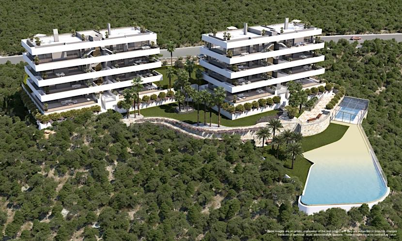 Luxury Madroño Apartments – Las Colinas Golf Resort – Alicante