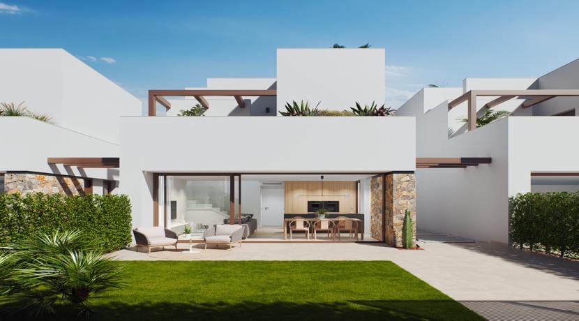 New 3 Bedroom Detached Villas – Santa Rosalia Resort – Murcia