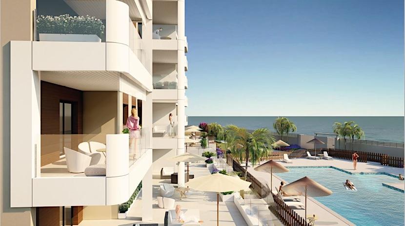 New Apartments – 50 metres to the beach – Mil Palmeras